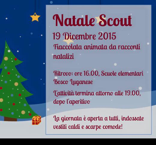 Natale Scout 2015